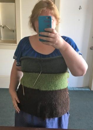 sweater-progress