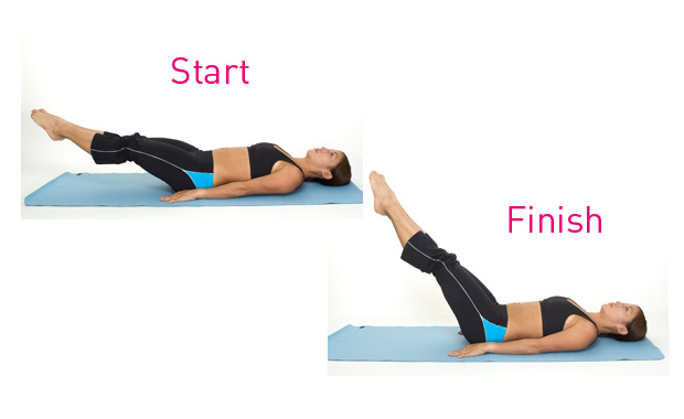 leg lifts exercise