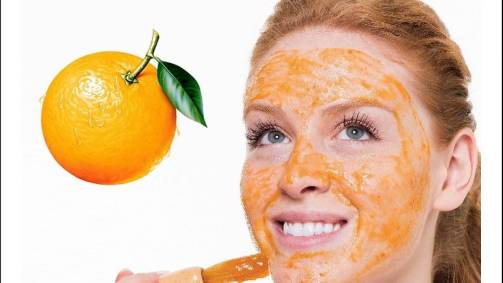 orange peel paste for acne