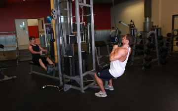 V- Bar Pulldown Exercise