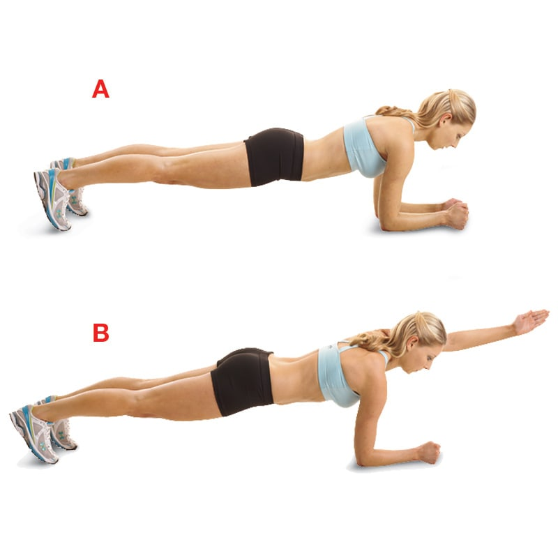 Plank Punches