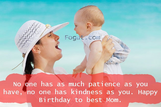 No one has as much patience as you have