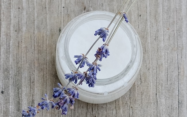 lavender Oil and coconut Oil