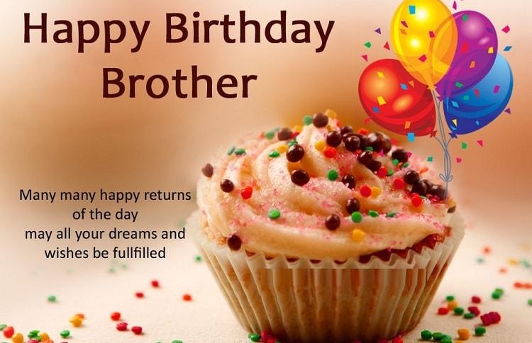 Whatsapp Status Brother Birthday