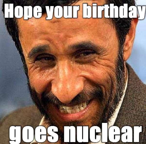 bday goes nuclear meme