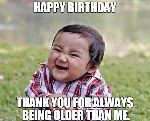 birthday meme evil child