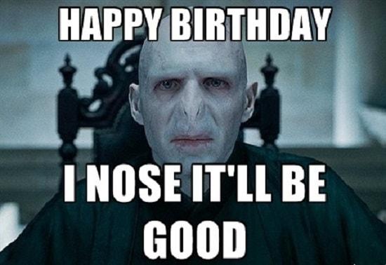 horror happy birthday meme