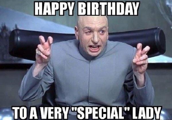 special lady birthday