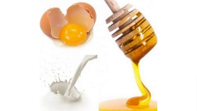 egg and honey mask