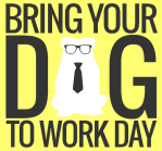 Bring Your Dog To Work Day Logo