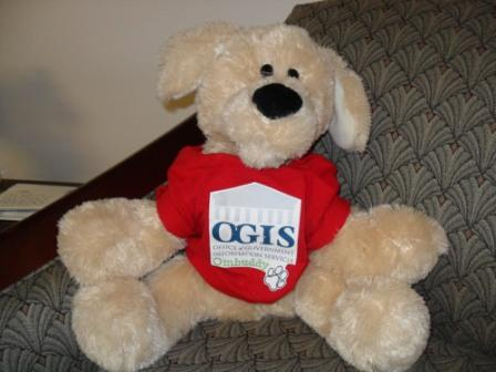 The FOIA Ombuddy, OGIS's unofficial mascot