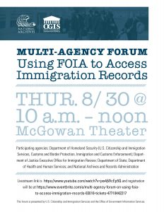 multi-agency-forum-on-using-foia-to-access-immigration-records