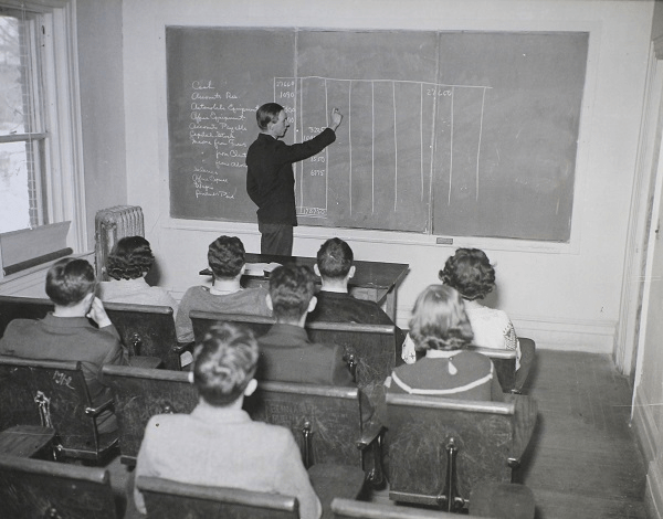 Photograph of a National Youth Administration Student Tutor. National Archives ID: 7403521