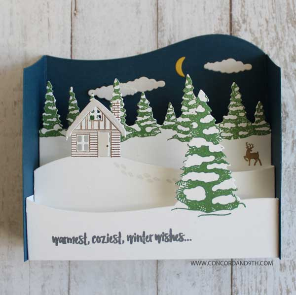 Concord Amp 9th Christmas Cottage Die Set The Foiled Fox