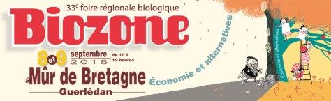 8 et 9 septembre: BIOZONE à Mur de Bretagne