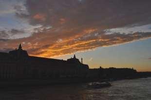 Le ciel desuss du musée d'Orsay