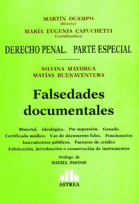 Falsedades documentales