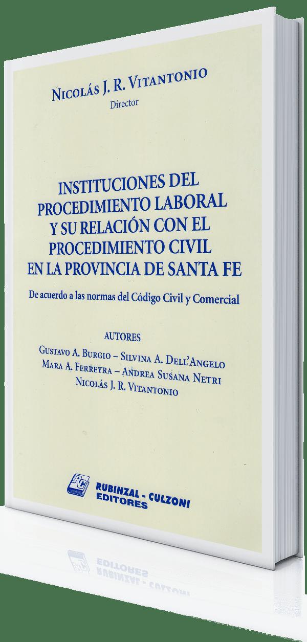 Rubinzal-Instituciones