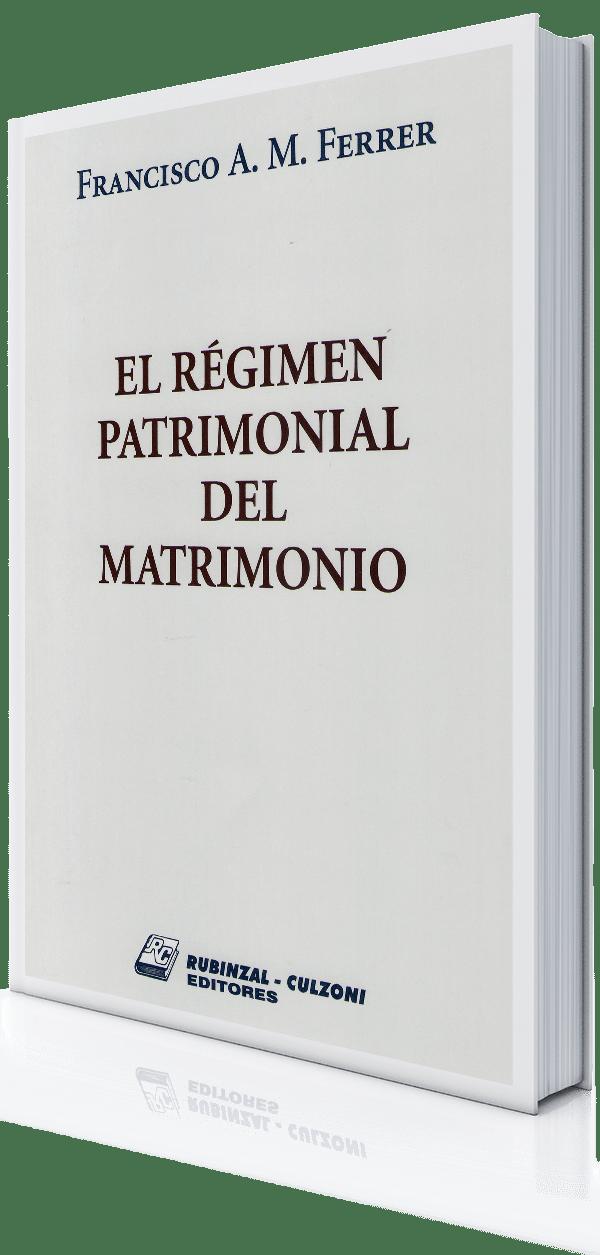 Civil – Rubinzal – El-regimen-patrimonial-del-matrimonio