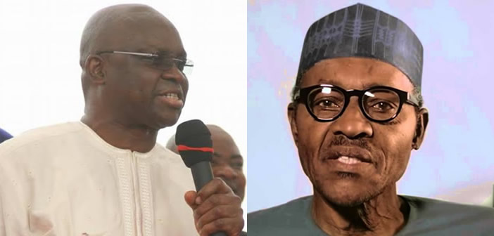 Image result for Fayose tells Buhari