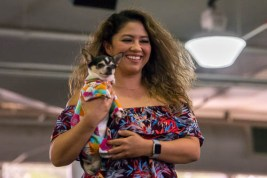 fokopoint-4309 Celebrities and Their Pets Fashion Show