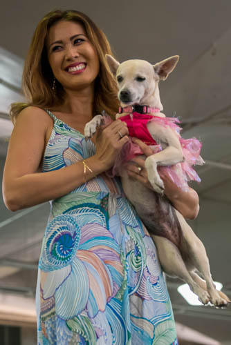 fokopoint-4338 Celebrities and Their Pets Fashion Show