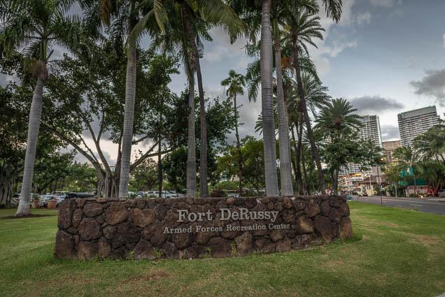 fokopoint Fort DeRussy Park