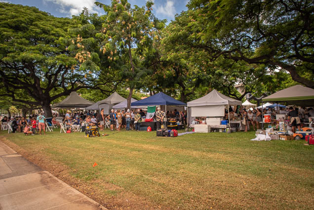 frank-fasi-civic-grounds-lawn-vegfest-oahu-fokopoint VegFest Oahu 2019