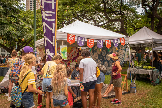 henna-tattoo-vegfest-oahu-fokopoint VegFest Oahu 2019
