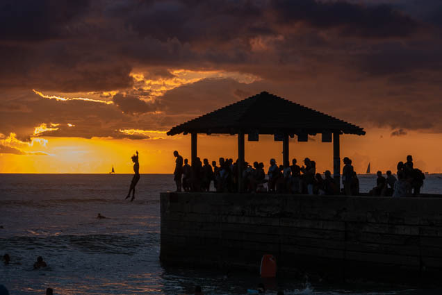 southwest-sunset-beach-september-2019-waikiki-fokopoint-7971 Southwest Sunset on the Beach