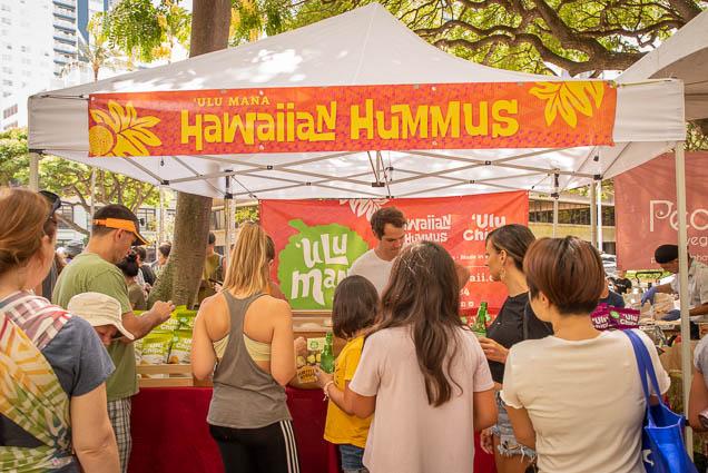 ula-mana-hawaiian-humus-vegfest-oahu-fokopoint VegFest Oahu 2019