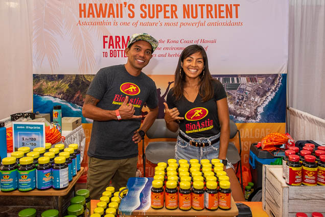 astaxanthin-bioastin-hawaiian-super-nutrient-fokopoint-1204 Food and New Product Show at the Blaisdell