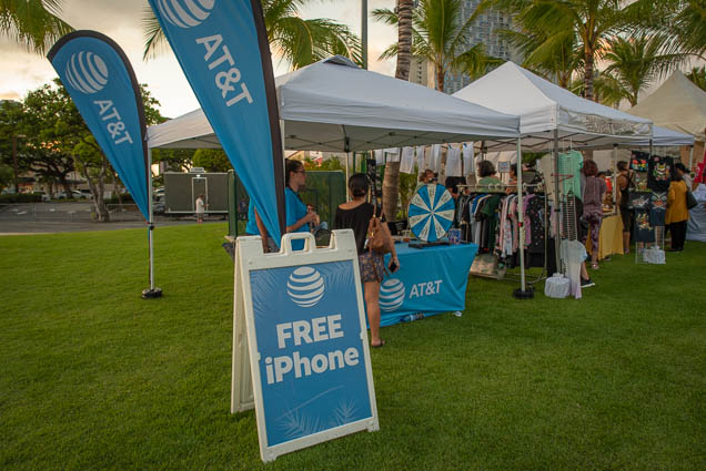 att-booth-free-iphone-rice-fest-2019-honolulu-fokopoint-0585 10th Annual Rice Fest