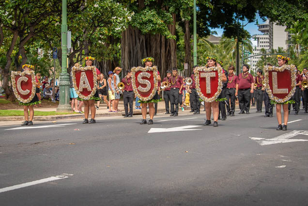 castle-high-school-band-floral-parade-2019-aloha-festivals-fokopoint-honolulu-9657 73rd Annual Floral Parade