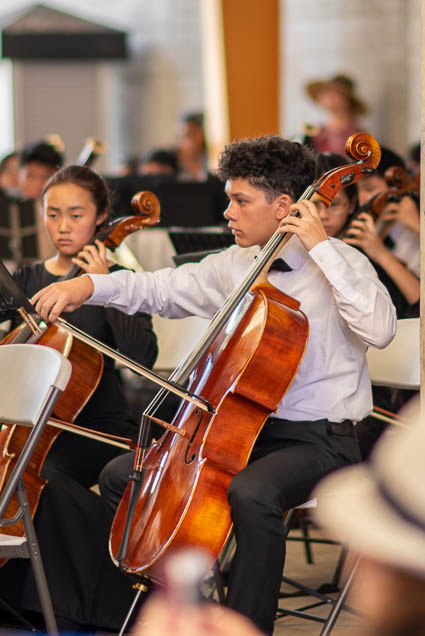 cello-hawaii-youth-symphony-salt-kakaako-fokopoint-1372 Hawaii Youth Symphony at Salt Kaka'ako