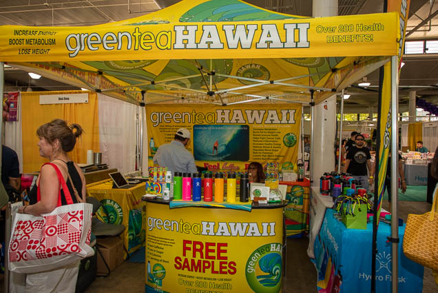green-tea-hawaii-fokopoint-1195 Food and New Product Show at the Blaisdell