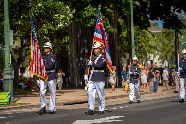hawaii-flag-floral-parade-2019-aloha-festivals-fokopoint-honolulu-9433 73rd Annual Floral Parade