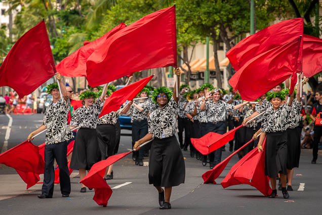 high-school-marching-band-floral-parade-2019-aloha-festivals-fokopoint-honolulu-9938 73rd Annual Floral Parade