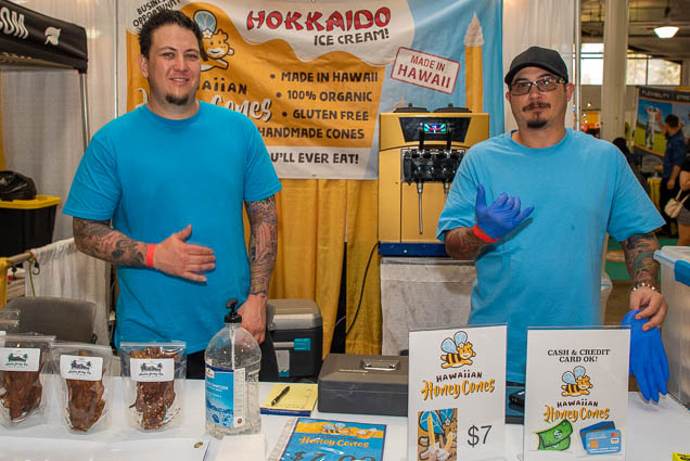hokkaido-ice-cream-fokopoint-1188 Food and New Product Show at the Blaisdell