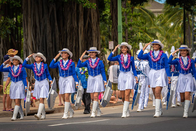 kamehameha-schools-marching-band-floral-parade-2019-aloha-festivals-fokopoint-honolulu-9780 73rd Annual Floral Parade