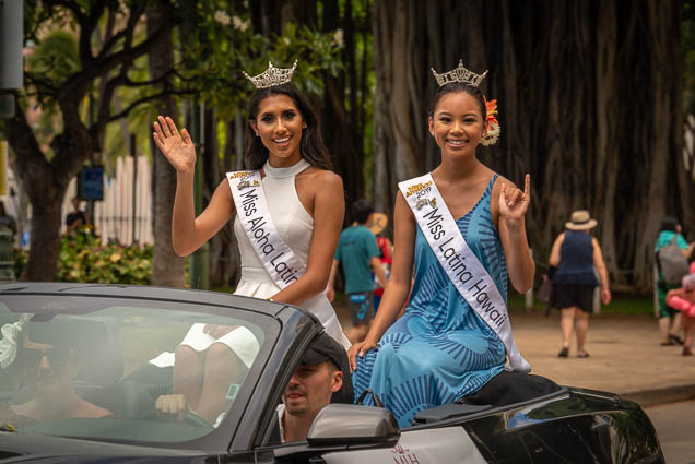 miss-latina-hawaii-floral-parade-2019-aloha-festivals-fokopoint-honolulu-0209 73rd Annual Floral Parade