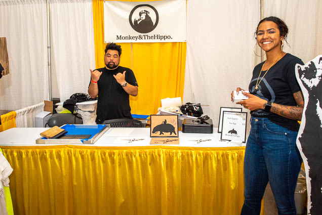 monkey-hippo-food-new-product-show-2019-honolulu-fokopoint-1201 Food and New Product Show at the Blaisdell