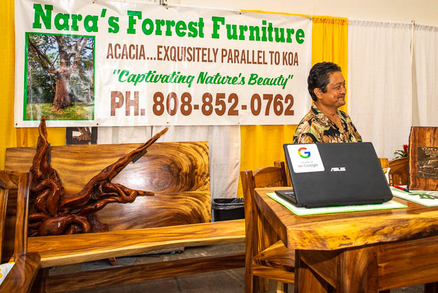 naras-forrest-furniture-hawaii-fokopoint-1173 Food and New Product Show at the Blaisdell
