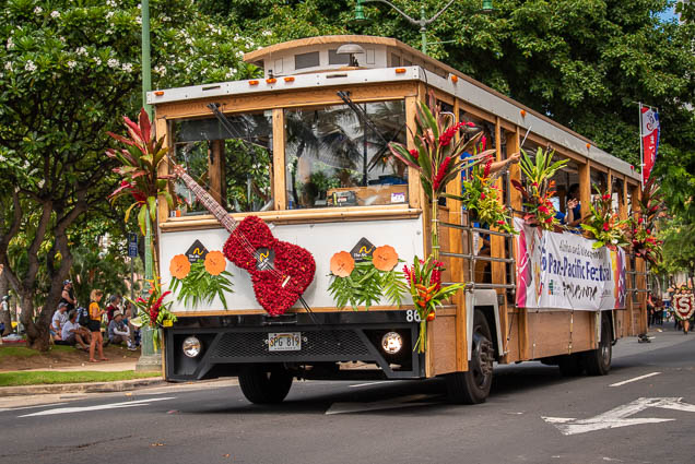pan-pacific-festival-trolley-floral-parade-2019-aloha-festivals-fokopoint-honolulu-9650 73rd Annual Floral Parade