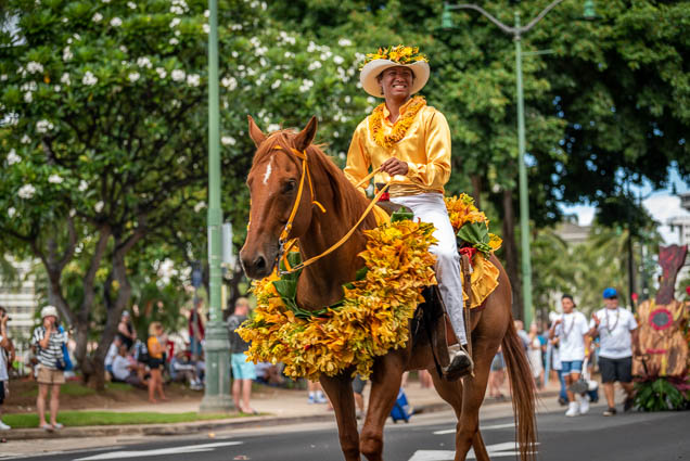 pau-queen-horse-floral-parade-2019-aloha-festivals-fokopoint-honolulu-9638 73rd Annual Floral Parade