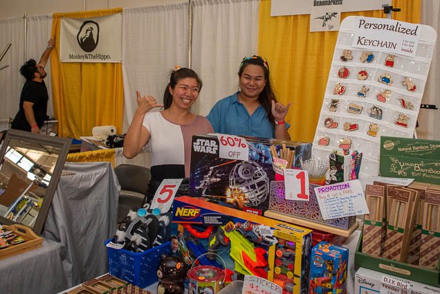 personalized-keychain-fokopoint-1202 Food and New Product Show at the Blaisdell
