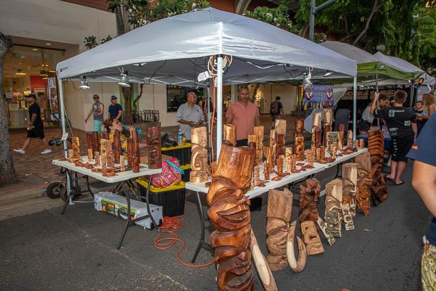 wood-carving-products-honolulu-fokopoint-1237 Waikiki Bazaar Festival