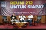 Reuni 212 Hadir Untuk Rakyat Yang Peduli Demokrasi