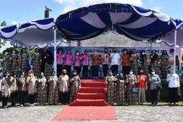 Anggota DPR RI Ary Egahni Kunjungi Rapid Test Massal di Kapuas