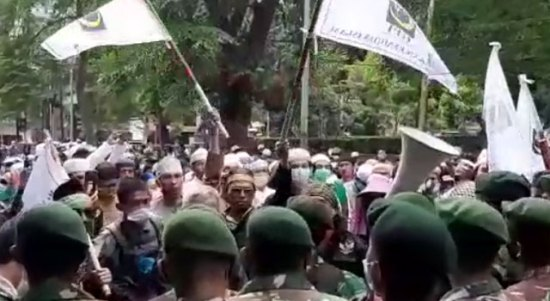 Kader GPI Ibrahim Yusuf Dikabarkan Hilang Saat Demo Aksi 1812